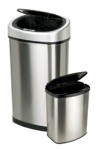 automatic trash can- best touchless trash can